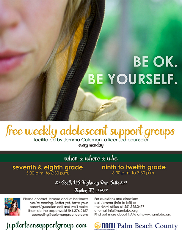 Support Group for Teens in Jupiter